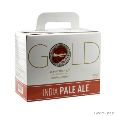 Muntons Gold IPA India Pale Ale, 3 кг