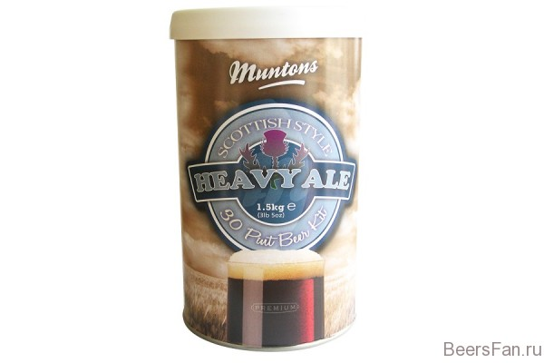 Muntons Scottish Heavy Ale 1,5 кг
