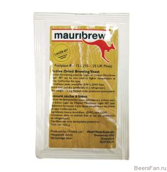 Дрожжи Mauribrew Lager 497