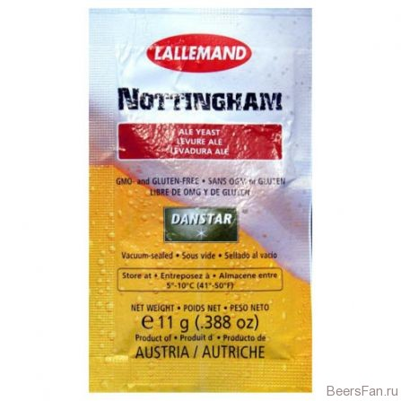 Дрожжи Lallemand Nottingham Ale