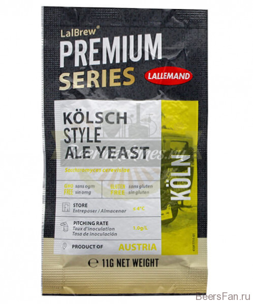 "Дрожжи Lallemand Lalbrew ""Kolsh Style Ale"", 11г"