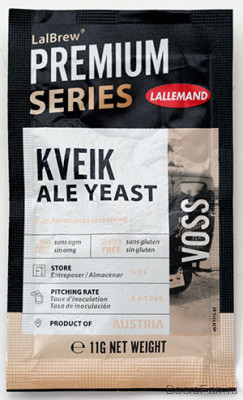 "Дрожжи Lallemand Lalbrew ""Voss Kveik, 11 гр"