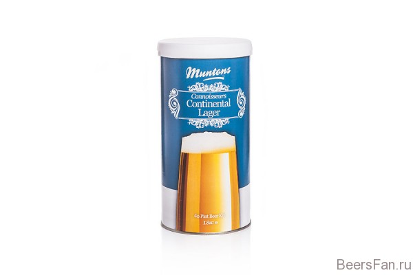 Muntons Continental Lager 1,8 кг